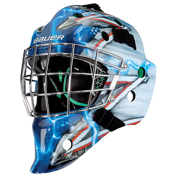 721fe1146fe Bauer NME 4 HECC Decal Sr Goal Mask - Hockey Services